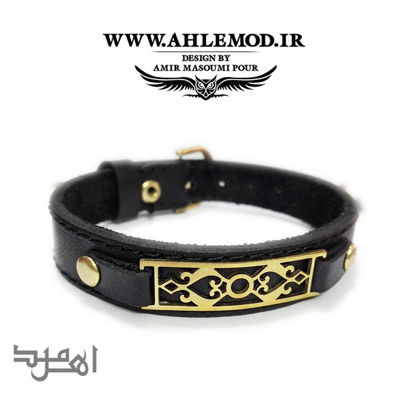 دستبند چرم اهل مد 2731